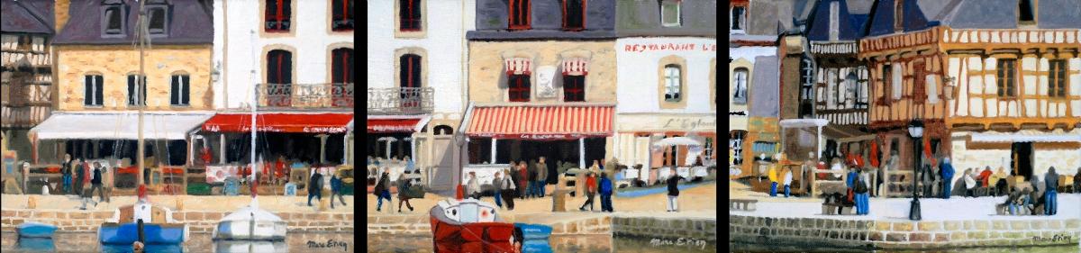 peinture St Goustan Auray