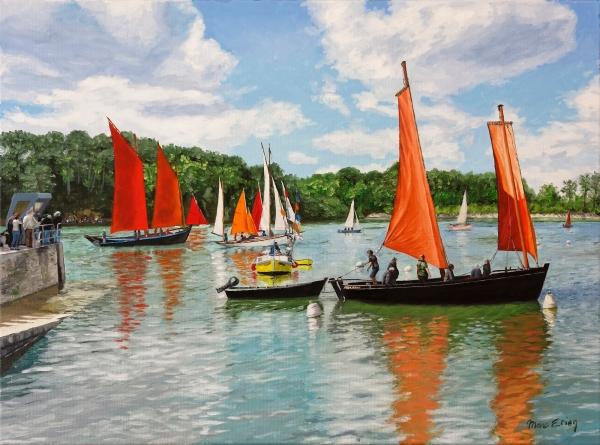 peinture Golfe Morbihan
