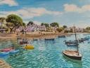 Tableau Golfe Morbihan