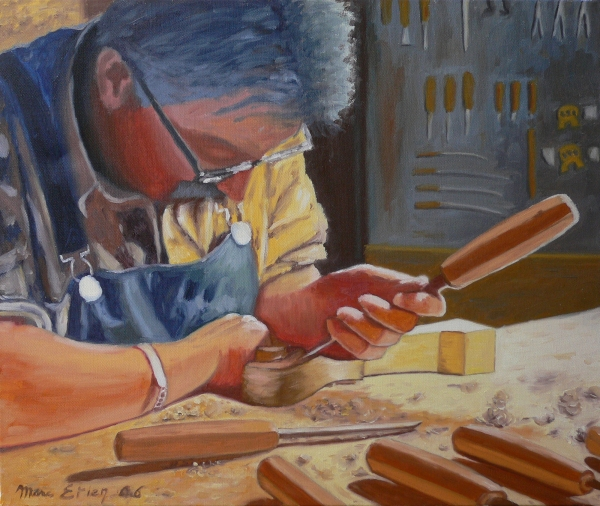 peinture luthier