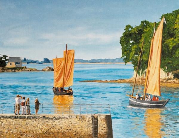 peinture bateaux sinagos